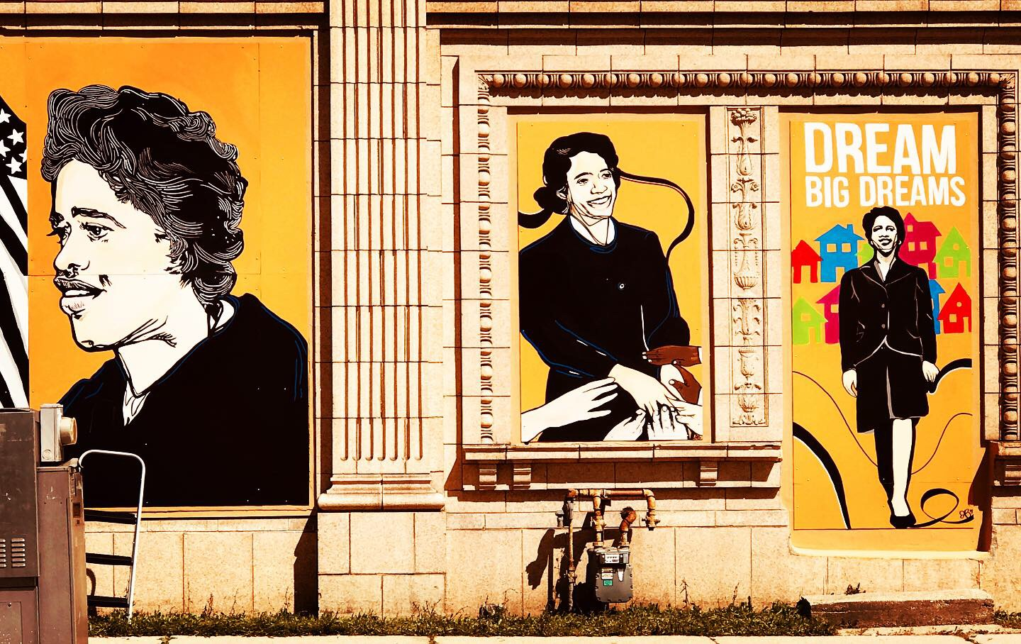 Vel R. Phillips Mural. Photo by Catherine Jozwik.