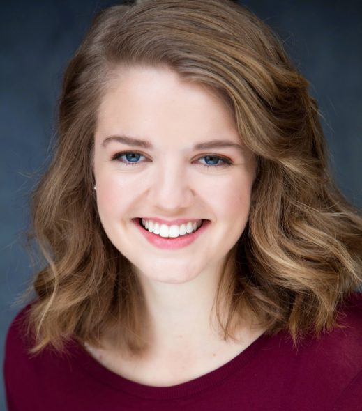 Hannah Klapperich-Mueller. Photo courtesy of Summit Players Theatre.