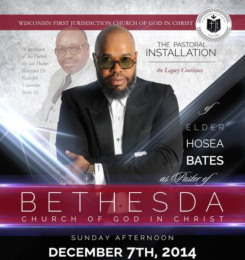 Hosea Bates. Image from Bethesda Church website.