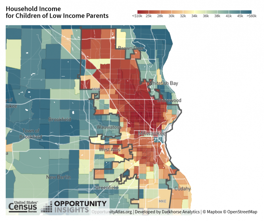 Household Income for Children of Low Income Parents