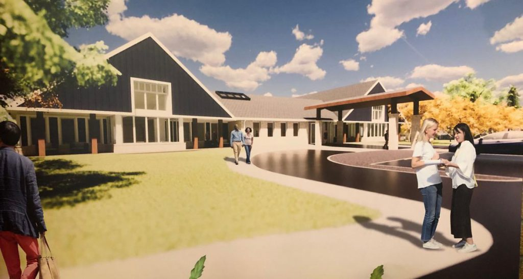 A rendering of the new Kathy's House the organization is fundraising for. Photo courtesy of Kathy's House.