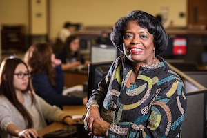 Janice Welburn. Photo courtesy of Marquette University.