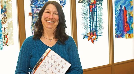 Lori Montezon. Photo courtesy of Marquette University.