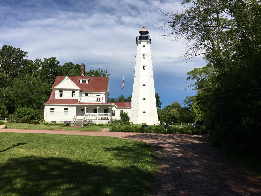 For 33 years, starting in 1874, the operation of the North Point Lighthouse in Lake Park was in the capable hands of an extraordinary woman. Photo by Carl Swanson.