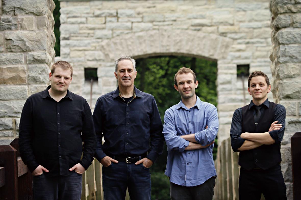 Irish music group Tallymoore. Photo from Tallymoore.