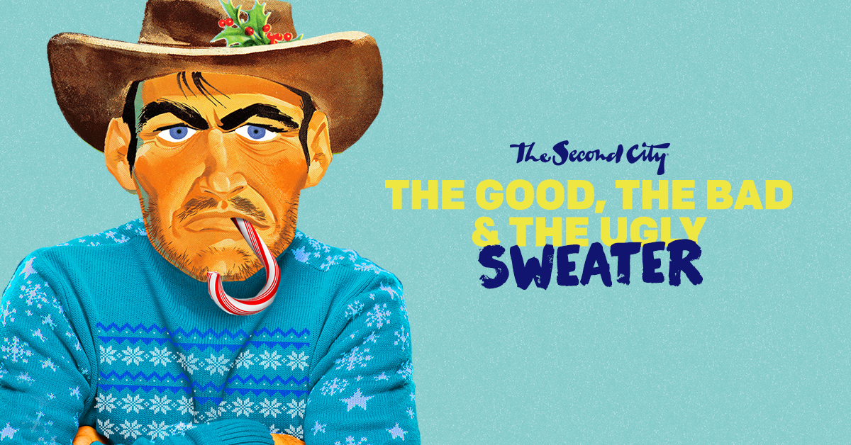 The Second City Knits 'The Good, The Bad & The Ugly Sweater' This Holiday