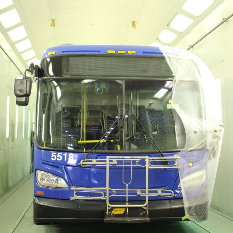 MCTS Fleet Maintenance Facility. Photo courtesy of MCTS.