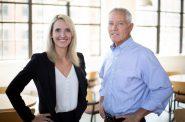 Andrea Bukacek and Jim Cairns. Photo courtesy of Bukacek Construction.