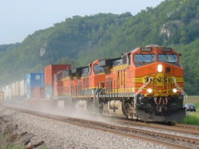 Lack of Freight Trains Damaging Roads?