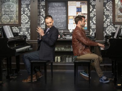 Theater: '2 Pianos, 4 Hands', Some Laughs