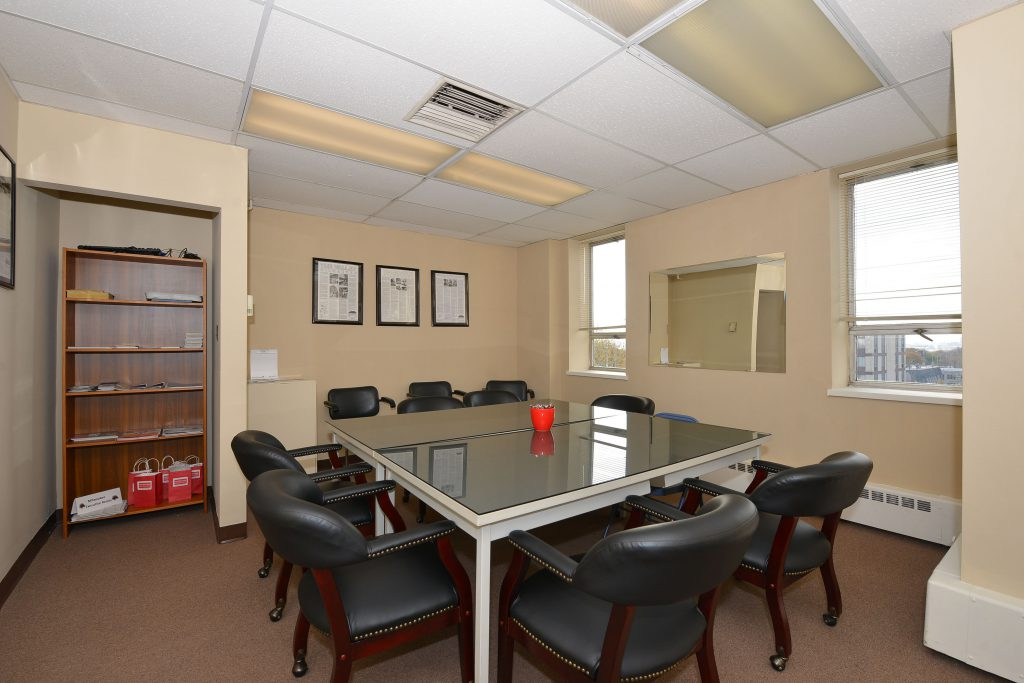 Office space in The Clock Tower Building. Photo courtesy of Carole Wehner.