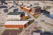 Mandel Group's Harbor Yards development. Rendering by HGA.