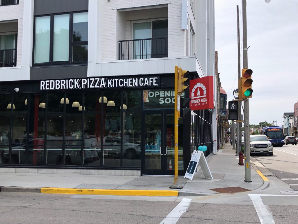 RedBrick Pizza Kitchen Cafe. Photo by Jeramey Jannene.