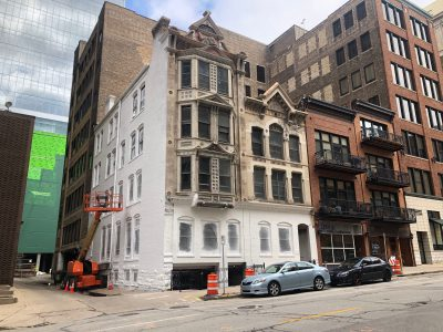 Eyes on Milwaukee: Newspaper Row Buildings Getting Fixup