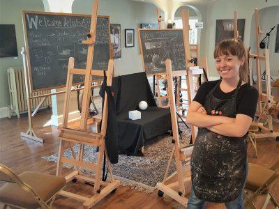 Art Scene: Art Studio Opening in Former Cudahy Funeral Home
