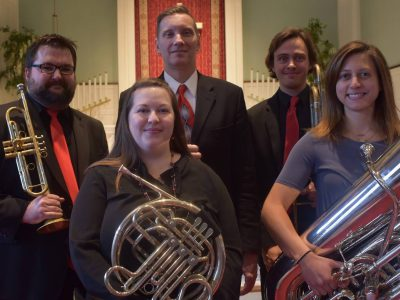 Find Us at Doctors Park: North Point Brass Quintet