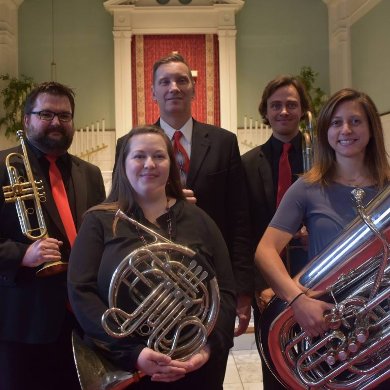 North Point Brass. Photo courtesy of Wisconsin Music Ventures.