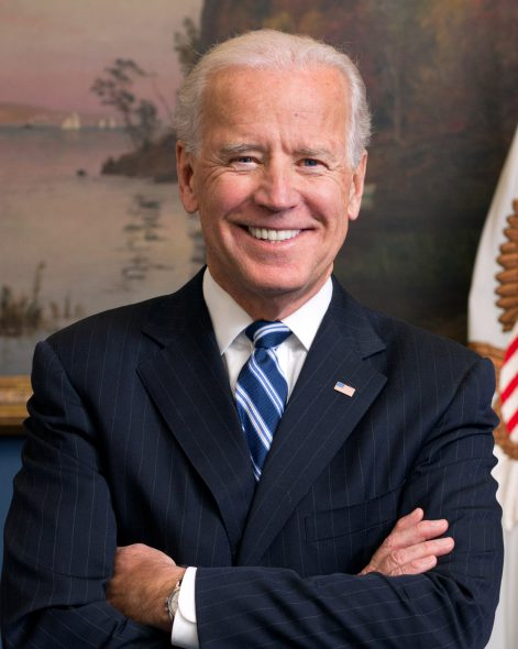Joe Biden. Photo is in the Public Domain.