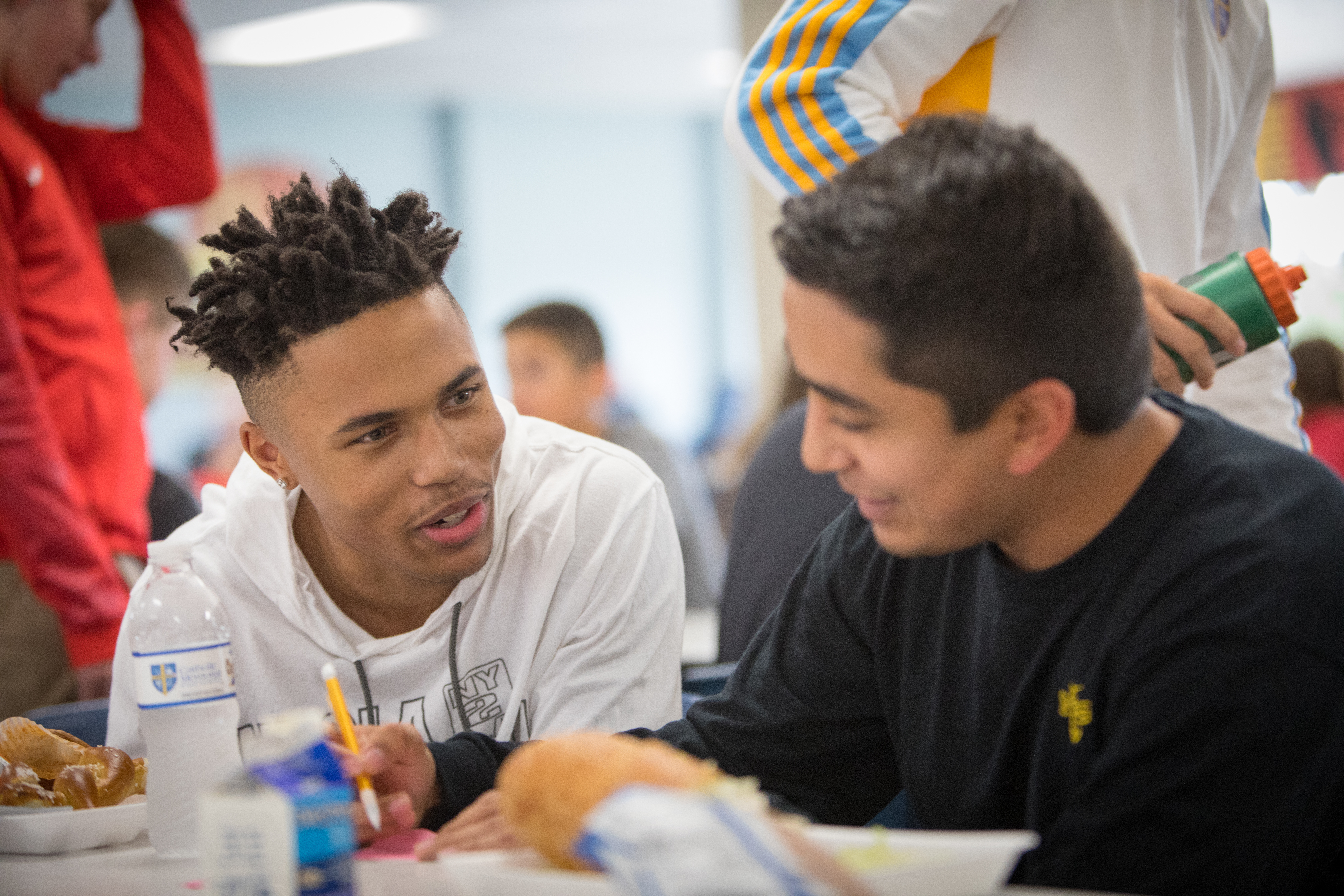 On the Table 2018, Catholic Memorial High School. Photo courtesy of the Greater Milwaukee Foundation.