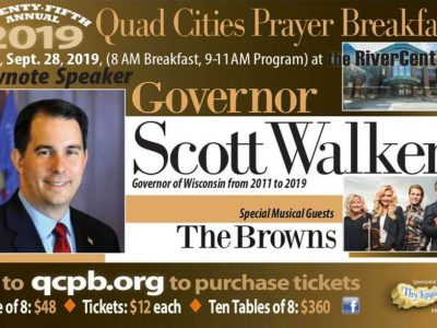 Walker Headlines Event of Controversial Preacher