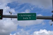 West Schlinger Avenue begins at State Fair Park. Photo by Carl Baehr.