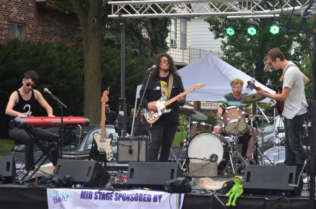 Yum Yum Cult at the Bay View Bash 2019. Photo by Jack Fennimore.