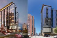 Ascent renderings. Renderings by Korb + Associates Architects.