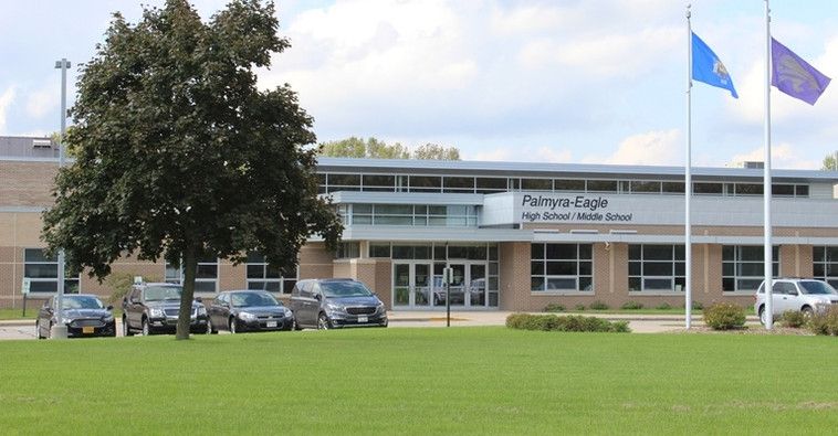 Palmyra-Eagle Middle School. Photo from the Palmyra-Eagle Area School District.