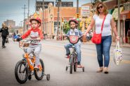 Ciclovia MKE in 2016. Photo by Dave Schlabowske.