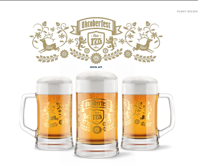 175 limited-edition collectible Pabst 175th Anniversary 16 oz. steins, featuring art reflecting the German heritage of the brewery, will be available for purchase only on Saturday, Oct. 5 at Oktoberfest.