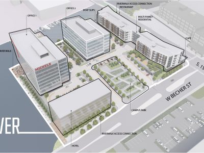 Plats and Parcels: Michels Has Hotel Partner for $100 Million Development