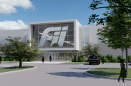 A rendering shows a proposed building on the Foxconn manufacturing campus being considered by village of Mount Pleasant officials. Rendering courtesy of the Mount Pleasant Development Department.
