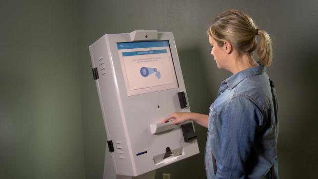 Photo courtesy of Precision Kiosk Technologies.