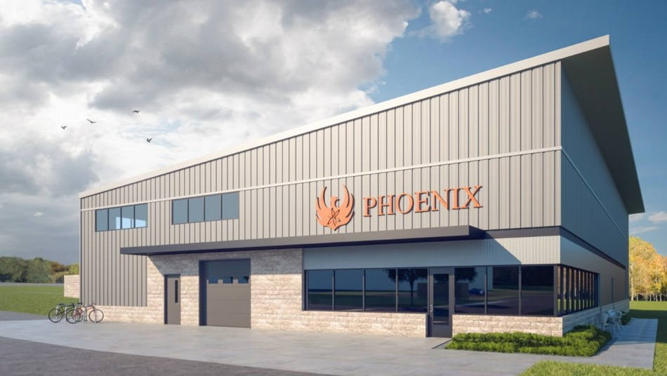 Phoenix Neutron Imaging Center. Rendering from Phoenix, LLC.