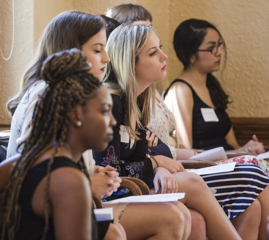 The Burke Foundation supports Mount Mary's Caroline Scholars program, a four-year scholarship for first-year, full-time undergraduate students with a passion for social justice. Photo courtesy of Mount Mary University.