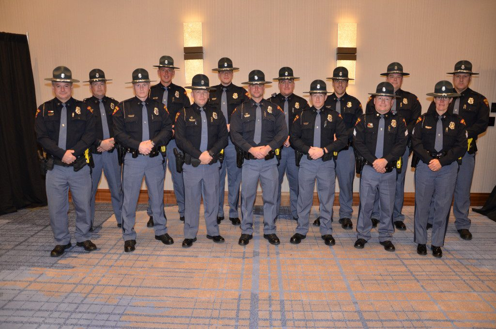 State Patrol Awards. Photo courtesy of WisDOT.