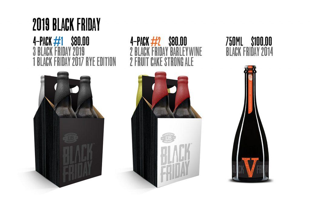 2019 Black Friday Packs