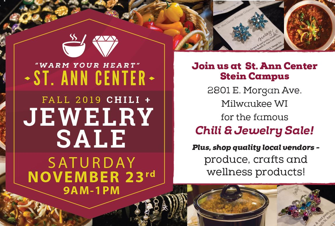 Chili & Vintage Jewelry Sale Nov. 23