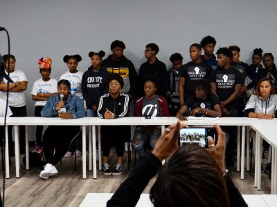 Teenagers, Community Leaders Plead for End to Violence