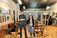 Andy and Lisa Pilarski. Photo courtesy of The Art School.
