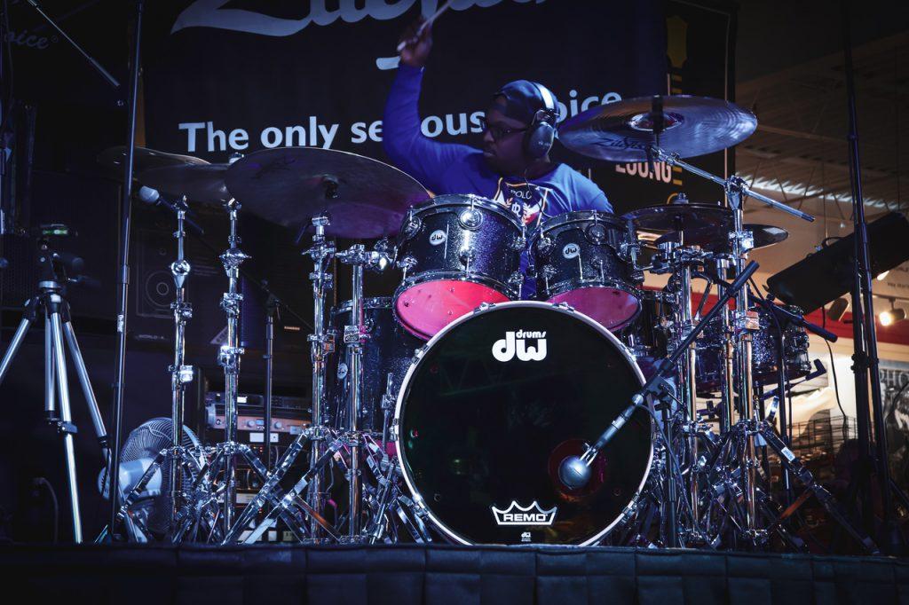 Drummerfest 2019 - Gerald Heyward. Photo courtesy of Cascio Music.