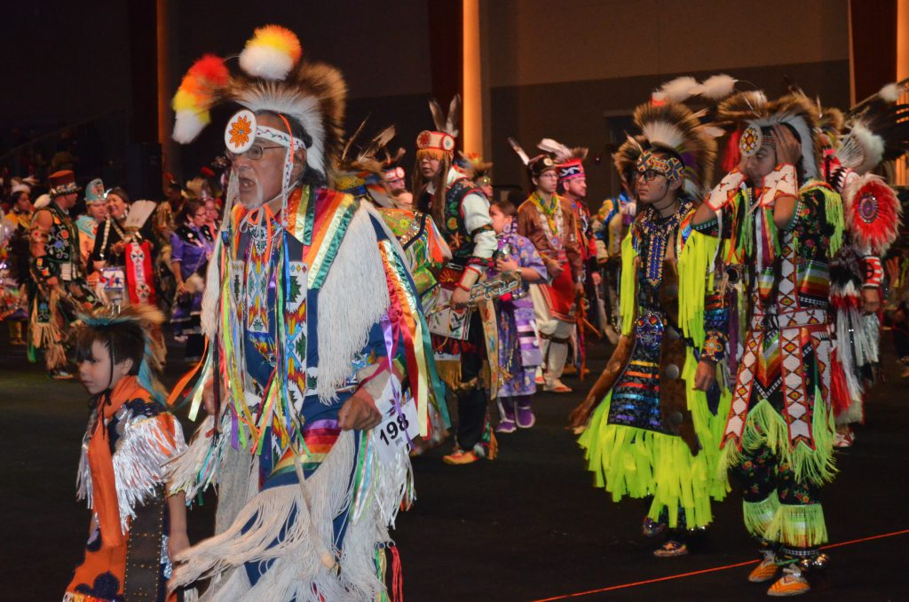 Hunting Moon Pow Wow 2019. Photo by Jack Fennimore.