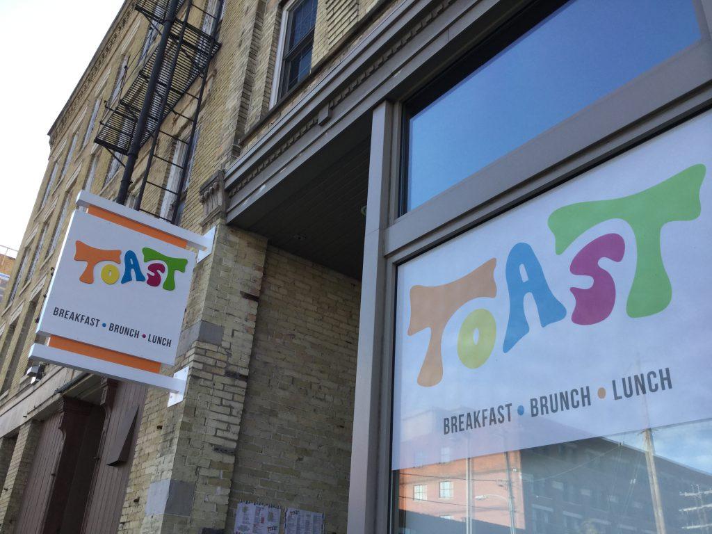 Toast. Photo by Cari Taylor-Carlson.