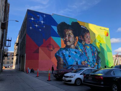 Eyes on Milwaukee: A New Four-Story, Downtown Mural