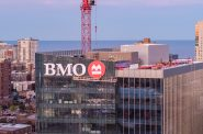 BMO Tower signage. Image from BMO Harris Bank.