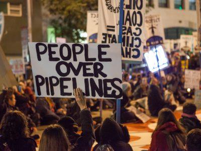Campaign Cash: Strange Bedfellows Back Pipeline Protest Bill