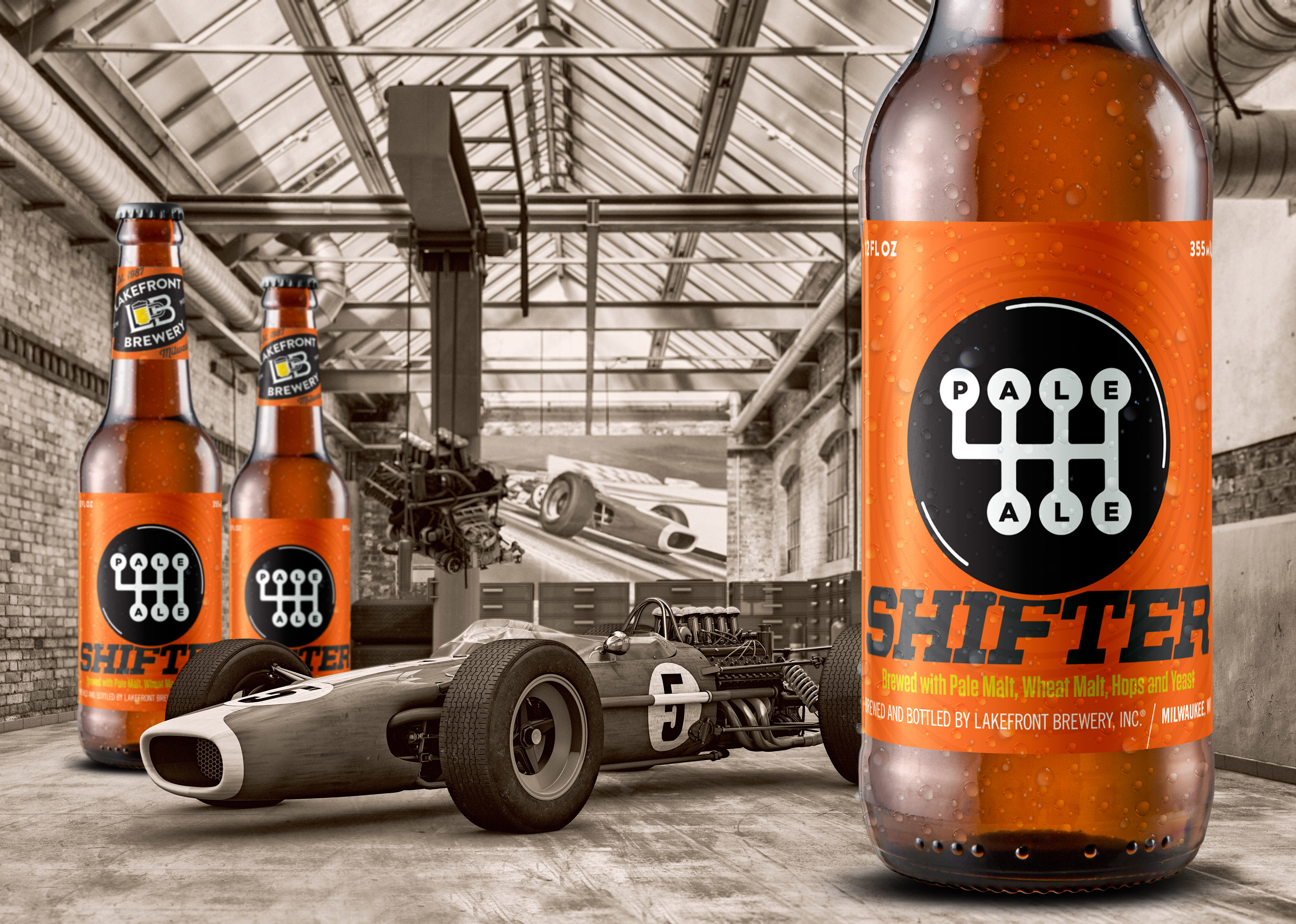 Lakefront Brewery Releases Shifter™ Pale Ale