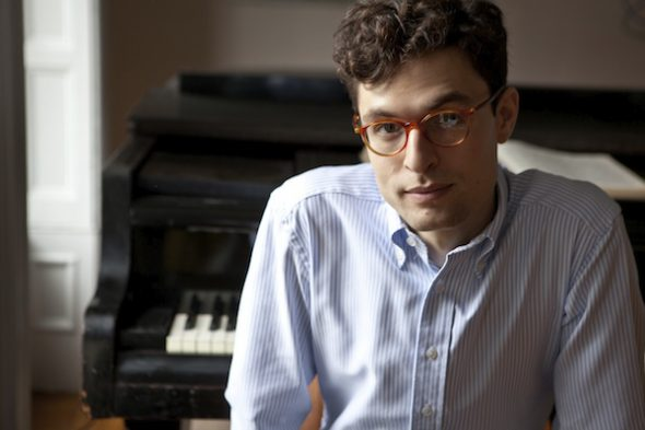 Composer Timo Andres. Photo by Michael Wilson.