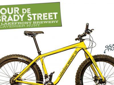 Lakefront Brewery Announces Tour De Brady Street with Prizes