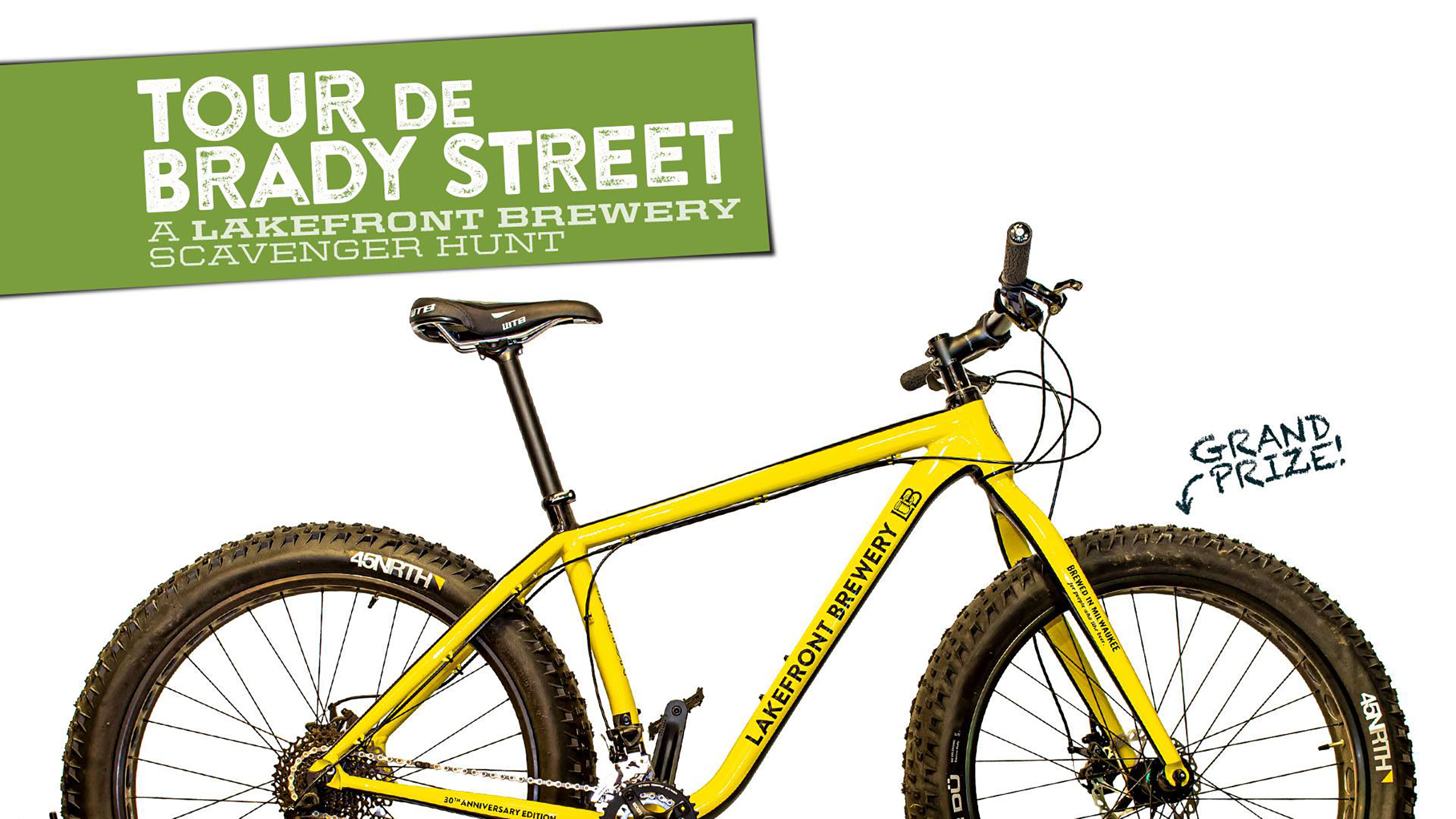 Lakefront Brewery Announces Tour De Brady Street with Prizes